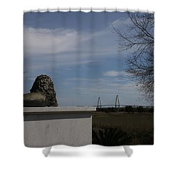 Iconic Landmarks Shower Curtain