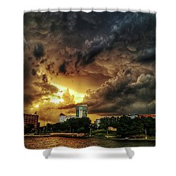 Ict Storm - From Smrt-phn Shower Curtain
