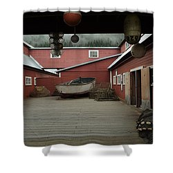 Icy Strait Point Cannery Museum Shower Curtain