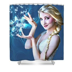 Icy Touch Shower Curtain