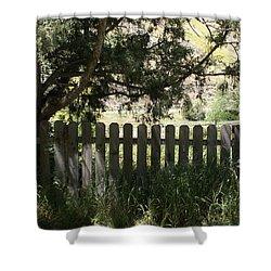 Idaho Farm1 Shower Curtain by Cynthia Powell