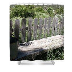 Idaho Farm2 Shower Curtain by Cynthia Powell