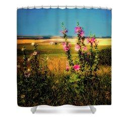Idaho Farmhouse  ... Shower Curtain