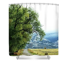 Idaho Road Trip Shower Curtain by Cynthia Powell