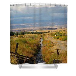 Idaho Stream Shower Curtain