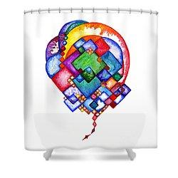 Ideas Born Shower Curtain