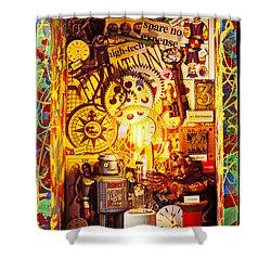 Ideas Shower Curtain by Garry Gay