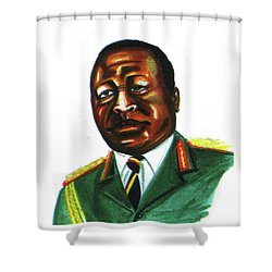 Idi Amin Dada Shower Curtain