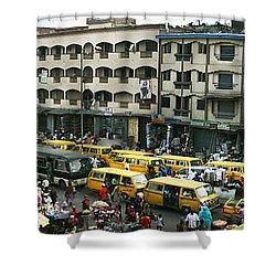 Idumota, Lagos Shower Curtain