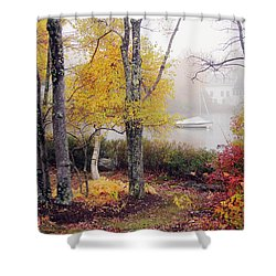 Shower Curtain featuring the photograph Idyllic by Betsy Zimmerli