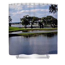 Charleston South Carolina Shower Curtain