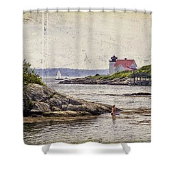 Idyllic Summer Days Shower Curtain