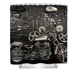 Shower Curtain featuring the photograph If Bling Is Your Thing by Randy Scherkenbach
