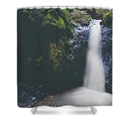 If Ever You Need Me Shower Curtain by Laurie Search
