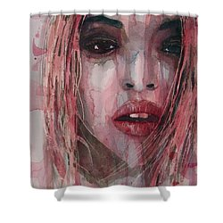 Shower Curtain featuring the painting If I Can Dream  by Paul Lovering