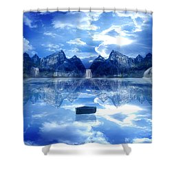 If I Could Turn Back Time Shower Curtain