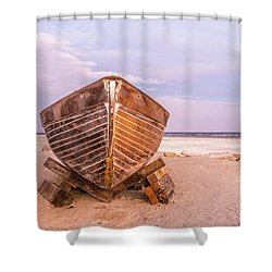 Shower Curtain featuring the photograph If I Had A Boat by Peter Tellone