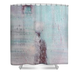 If The Human Society  Still Needs Painting Shower Curtain