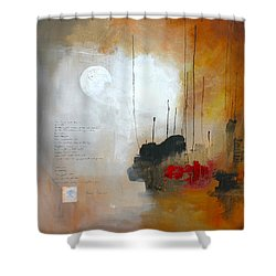 If You Forget Me Shower Curtain by Vital Germaine