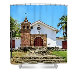 Iglesia De San Antonio Shower Curtain