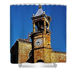 Iglesia De San Martin - Trujillo Shower Curtain by Juergen Weiss