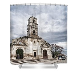 Iglesia De Santa Ana Shower Curtain
