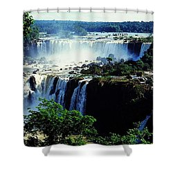 Iguacu Waterfalls Shower Curtain