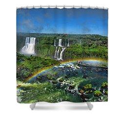 Iguazu Panorama Shower Curtain
