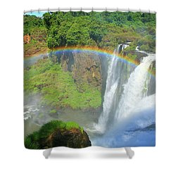 Iguazu Rainbow Shower Curtain
