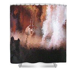 II - Halfling Shower Curtain