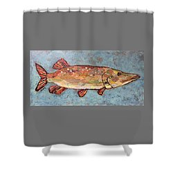 Ike The Pike Shower Curtain