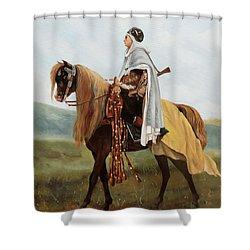 Il Cavaliere Giallo Shower Curtain