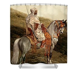 Il Cavaliere Shower Curtain
