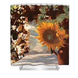 Il Girasole Shower Curtain