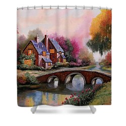 Il Ponticello A Colori Shower Curtain