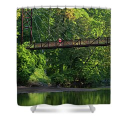 Ilchester-patterson Swinging Bridge Shower Curtain
