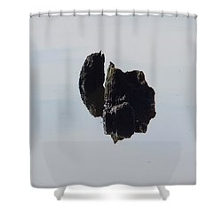Ile Scindee Shower Curtain by Marc Philippe Joly