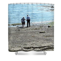 I'll Hold Your Hand  Shower Curtain