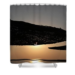 I'll Miss You Shower Curtain by Jez C Self
