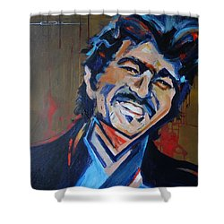 Illegal Smile Shower Curtain