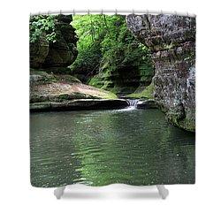 Illinois Canyon Summer Shower Curtain