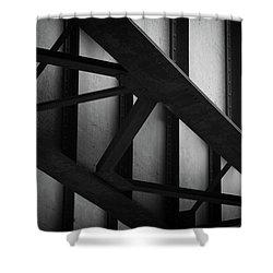 Illinois Terminal Bridge Shower Curtain
