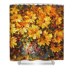 Illousion Of Love  Shower Curtain by Leonid Afremov