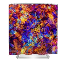 Illucid Presence Shower Curtain