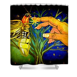 Illumination Shower Curtain by Alexandria Weaselwise Busen