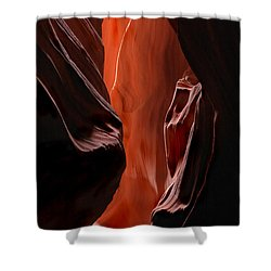 Illuminations Shower Curtain by Mike  Dawson