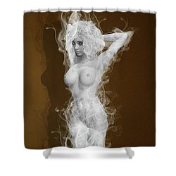 Illusion Of The Mind Shower Curtain