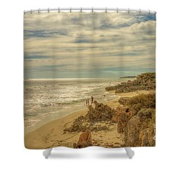 Iluka, Western Australia Shower Curtain