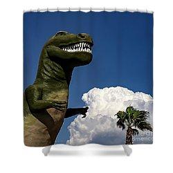 I'm A Nervous Rex Shower Curtain