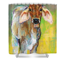 Im All Ears Shower Curtain by Frances Marino
